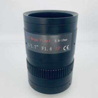 10x optical zoom lens