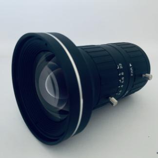 12mm 4/3″sensor Mega Pixel C mount machine vision lens for industrial camera