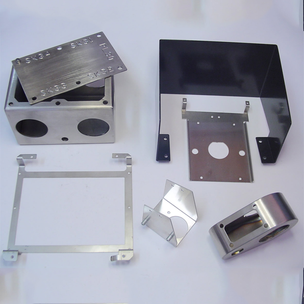 Metal sheet & deep drawn parts