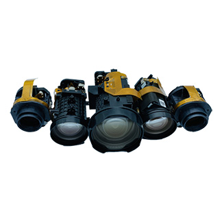 Security CCTV Zoom lenses