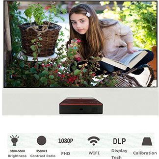 Ultra Short Throw Laser Projector